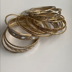 Assorted Gold Bangles